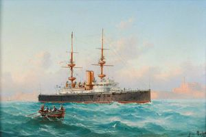 Luigi Maria Galea - Hms -royal Sovereign- Aus Malta