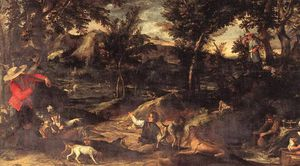 Annibale Carracci - Jagd