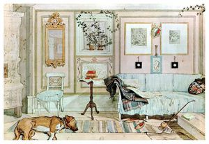 Carl Larsson - lazy nook