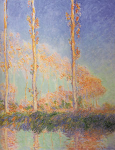 Claude Monet - pappeln