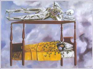 Frida Kahlo - el sueno -The Traum