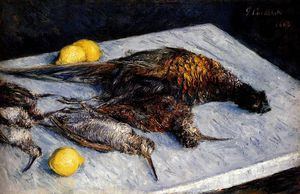 Gustave Caillebotte - Spiel Birds And Lemons