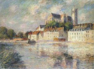 Gustave Loiseau - die auxerre Dom
