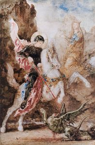 Gustave Moreau - st. georg