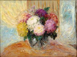 Henri Lebasque - chrysantheme