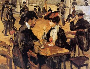 Isaac Lazarus Israels - Cafe dansant Moulin Galette Sun