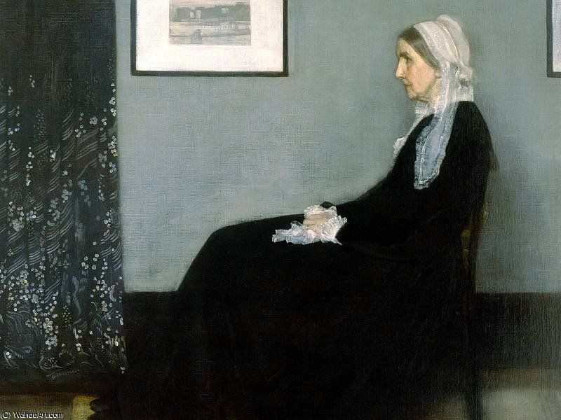 mutter von James Abbott Mcneill Whistler (1834-1903, United States)