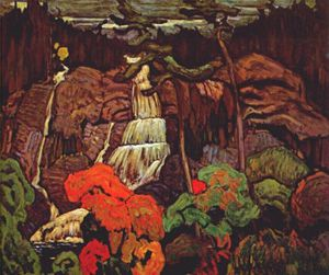 James Edward Hervey Macdonald - algom wasserfall