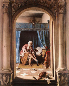 Jan Havicksz Steen - Die Morgentoilette