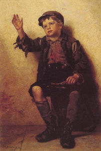 John George Brown - Schuhputzer
