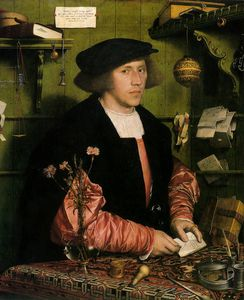 Hans Holbein The Younger - ohne titel (6996)