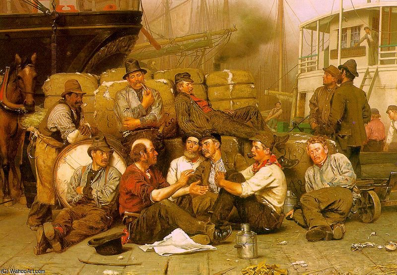 ohne titel (6981) von John George Brown (1831-1913, United Kingdom) | WahooArt.com