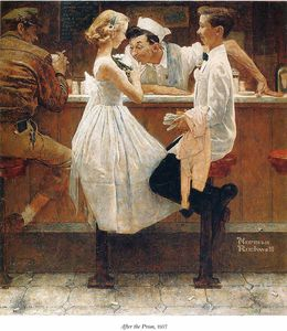 Norman Rockwell - ohne titel (7905)