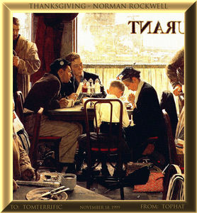 Norman Rockwell - top hat Rockwell