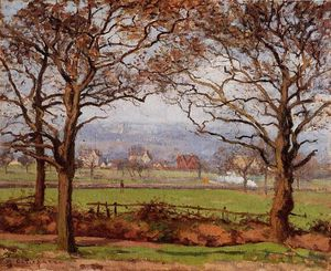 Camille Pissarro - bei sydenham hill , blick in richtung lower norwood .