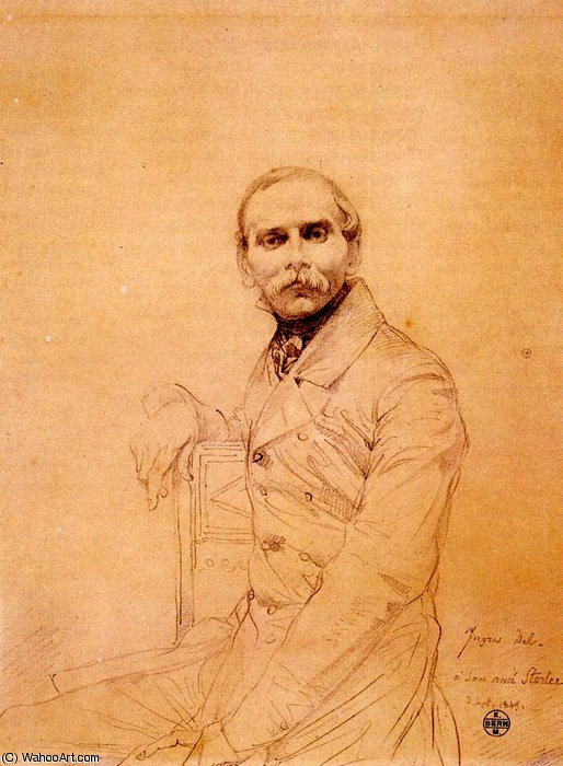 Franz Adolf von Stuerler von Jean Auguste Dominique Ingres (1780-1867, France)