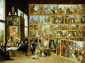 David The Younger Teniers - Erzherzog leopold wilhelm s studio