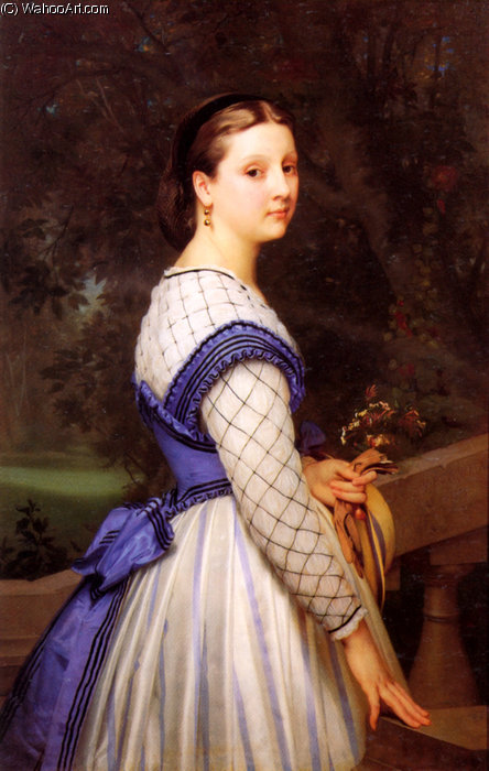 la comtesse von Montholon von William Adolphe Bouguereau (1825-1905, France)