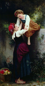 William Adolphe Bouguereau - Petites maraudeuses