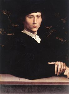 Hans Holbein The Younger - Portrait Derich Born