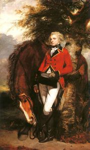 Joshua Reynolds - Colonel George Coussmaker