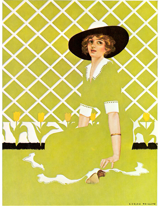 Untitled (142) von Coles Phillips (1880-1927, United States)