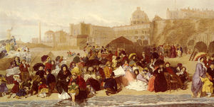 William Powell Frith - Leben am Meer ramsgate Sande