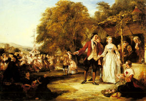 William Powell Frith - Ein Maifeier