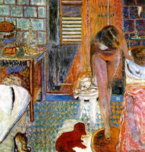 Pierre Bonnard - La toilette , kalifornien Privat