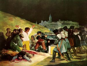 Francisco De Goya - die shootings mai Dritte Prado