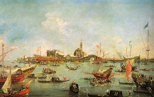 Francesco Lazzaro Guardi - ohne titel (534)