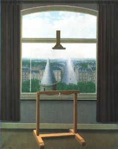 Rene Magritte - Euklidischen walks , 1955 , minneapolis inst . der künste