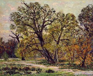 Maxime Emile Louis Maufra - Herbst Wald von Fontainebleau