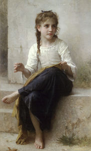 William Adolphe Bouguereau - La couturière