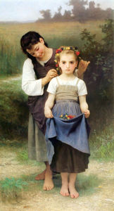 William Adolphe Bouguereau - Parure des Kaut