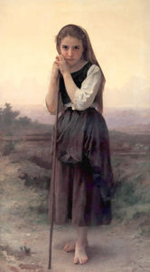 William Adolphe Bouguereau - Petite Bergere