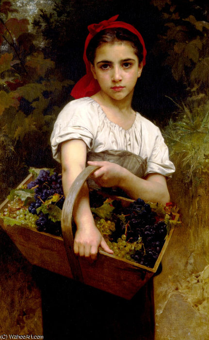 Der Weinleser von William Adolphe Bouguereau (1825-1905, France)