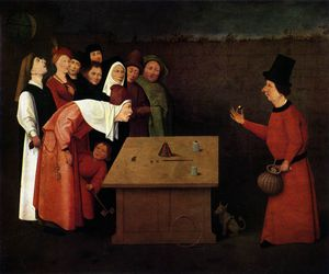 Hieronymus Bosch - The Magician