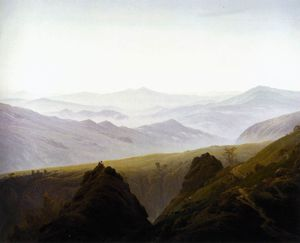 Caspar David Friedrich - in der berge