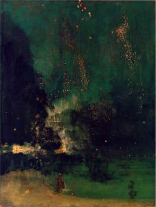 James Abbott Mcneill Whistler - fallen Rakete
