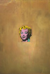 Andy Warhol - Gold marilyn