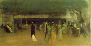 James Abbott Mcneill Whistler - Cremorne gärten