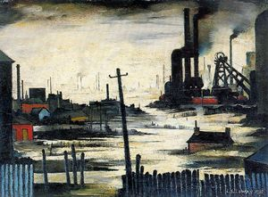 Lawrence Stephen Lowry - ohne titel (825)