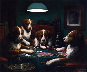 Cassius Marcellus Coolidge - Das Pokerspiel