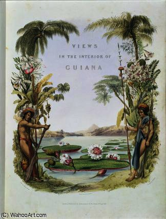Frontispiz 'Views in der Inneres von Charles Bentley (1805-1854, United Kingdom)