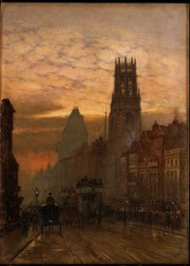 Herbert Menzies Marshall - fleet street von temple bar