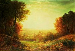 John Macwhirter - Auf Hampstead Heath