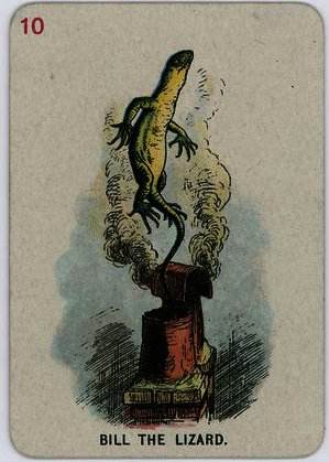 Bill the Lizard von John Tenniel (1820-1914, United Kingdom)