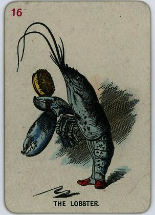 der hummer von John Tenniel (1820-1914, United Kingdom)