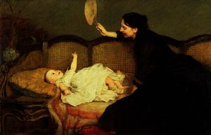 William Quiller Orchardson - Master-baby